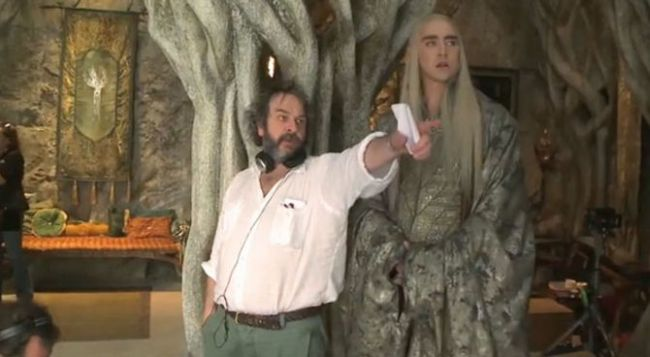 peter jackson backstage hobbit 2